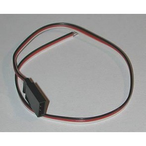 Buchsenkabel JR  0,14mm/0,28m flach Standard Jamara