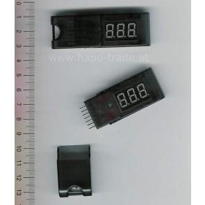 Digital Lipo Volt Spion 2-6 S Stick  EMax