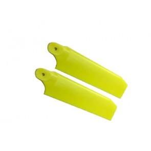 KBDD Heckrotorblätter Extreme Edition 104mm (neon gelb)  KBDD4080#