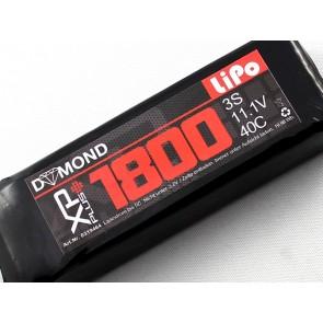 DYMOND XP-plus 1800 3S (11,1V) 40C Akku (mit LED Anzeige)