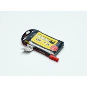Lipo Akku LemonRC - 450mAh / 2S / 7,4V / 35C