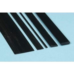 Kohlefaser Leiste 1,0x3,0x1000mm Graupner