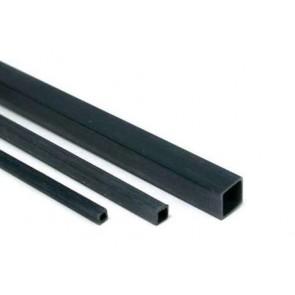 Kohlefaser Vierkantrohr 4mm x 1000mm Graupner