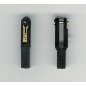 Sicherheitsgabelköpfe M2 Kunststoff Simprop