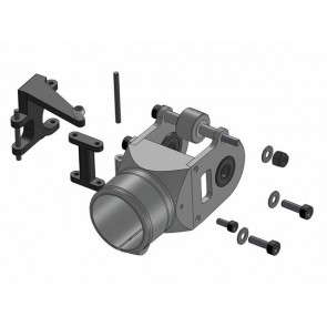 Heckgetriebegehäuse (komplett) 09-8051# Compass