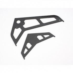Blade 450 Leitwerk / Heckfinne Carbon BLH1672C Blade