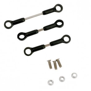Servo Pushrod Set: BSR - EFLH1515  Eflite