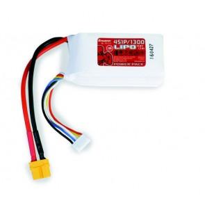 Lipo Akku Graupner Power Pack LiPo 1300mAh 4S1P 14,8V 70C