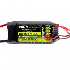 MTTEC KETO HV BEC 12s 10A/20A Peak V2 MT1818# Compass