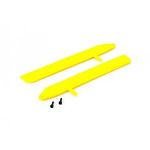 Blade 130X: Blade Fast Flight Hauptrotorblätter Set Gelb BLH3715YE Blade