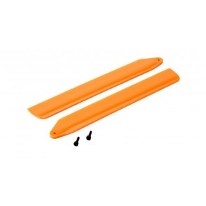 Blade 130X: Hi-Performance Hauptrotorblätter Set Orange BLH3716OR Blade