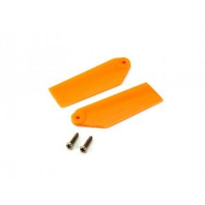 Blade 130X: Heckrotorblätter Orange BLH3733OR Blade