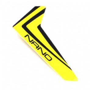 Blade Nano CP X : Finne gelb m. Dekorbg. BLH3320 Blade