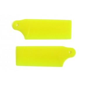 KBDD Heckrotorblätter 19 mm (gelb) KBDD5251#