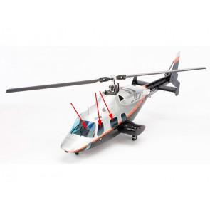 Blade 500 3D Bell 222  Scheibensatz BLH1890 Blade