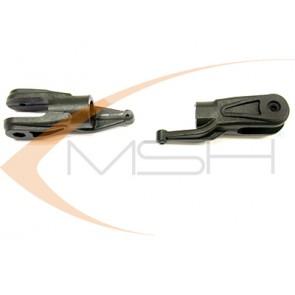 Protos 500 - 10mm Hauptrotorblatthalter Plastik MSH51085# MSH