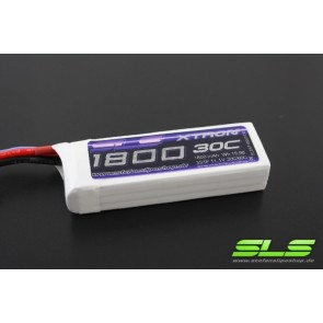 Lipo Akku SLS XTRON 1800mAh 3S1P 11,1V 30C/60C (SLSXT18003130)