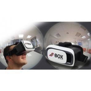 J-Box VR-Brille - 3D Effekt durch zwei Linsen