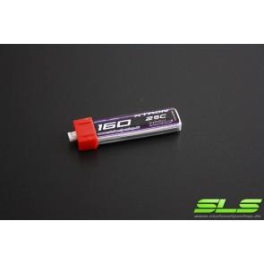 Lipo Akku SLS XTRON 160mAh 1S1P 3,7V 25C (SLSXT01601125)