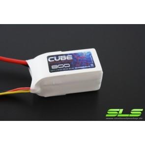 Lipo Akku SLS X-CUBE 800mAh 2S1P 7,4V 40C/80C (SLSCUX08002140)