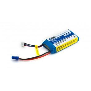 Akkupack E-flite 1300mAh 2S 7.4V 20C LiPo, 13 AWG EC2 (E-flite) EFLB13002S20 Eflite