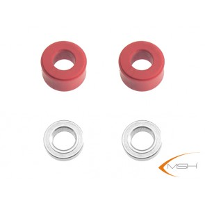 Protos 500 - Dämpfergummi 3D rot MSH51163# MSH