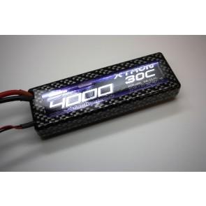 SLS XTRON 4000mAh 2S1P 7,4V 30C/60C (SLSXT40002130HSB) SLS