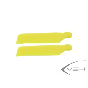 Tail blade Protos 380 Yellow