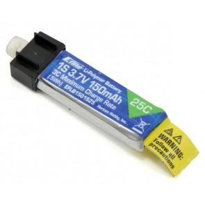 Lipo Akku E-flite 150mAh 1-Cell 3.7V 25C LiPo EFLB1501S25