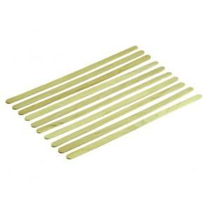 10 x Holzrührstäbchen • 140 x 5 x 1mm Yuki