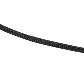 Geflechtschlauch GS-4 schwarz 1m Jamara