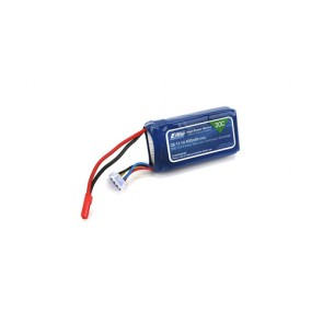 E-flite 450mAh 3S 11.1V 30C LiPo, 18AWG JST EFLB4503SJ30 Eflite