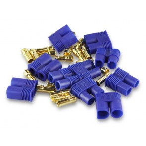 5x Goldkontaktstecker Set 5mm EC5 Yuki