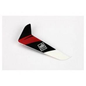 Blade 120 SR Heckleitwerk mit Dekor Rot - BLH3120R  Blade