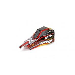 ECX Karosserie schwarz /gelb 1:10 AMP DB