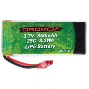 Lipo Akku Dromida 850mAh 1-Cell 3.7V 25C LiPo