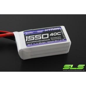 SLS XTRON 1550mAh 3S1P 11,1V 40C/80C (SLSXT15503140) SLS