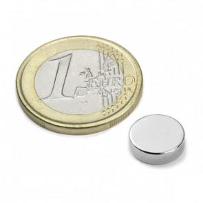 Neodym Magnet im Scheibenform 10 mm, Höhe 3 mm