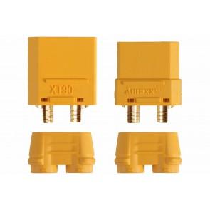 Goldkontaktstecker Set XT90 (zwei Paar)
