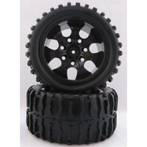 Offroad Räder 1:10 Truggy 115mmx55mm (2x) Monstertronic