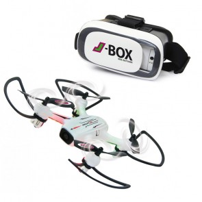 Angle 120 Altitude HD Wifi FPV plus J-Box VR-Brille