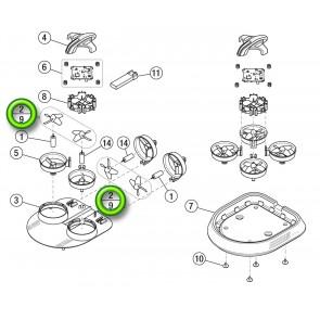 Propellersatz (4) (BLH9801)