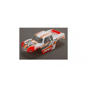 ECX Karosserie weiss /orange 1:10 AMP MT