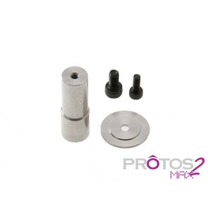 Protos Max V2 - Guide pulley support - Front side V2 MSH71133# MSH