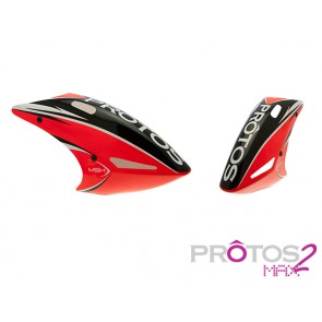 Protos Max V2 - Painted canopy FG Neon orange MSH71169# MSH