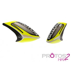 Protos Max V2 - Painted canopy FG Neon yellow MSH71170# MSH