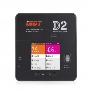 Ladegerät iSDT DUO SMART CHARGER D2 / 200W 12A