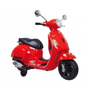 Ride On Vespa - Vespa rot 12V - Elektromotorrad für Kinder