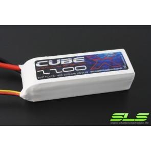 Lipo Akku SLS X-CUBE 2200mAh 3S1P 11,1V 30C/60C (SLSCUX22003130)