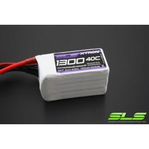 Lipo Akku SLS XTRON 1300mAh 6S1P 22,2V 40C/80C